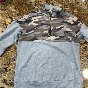 47c0fe71394be Jackets & Blazers - Camo Oversized Pullover !